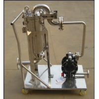Wholesale Ss304 Ss316 Stainless Fermentation Tank Movable Bag Filter Housing from china suppliers