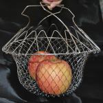 Buy cheap Metal 201 304 Stainless Steel Fry Basket / Chip Pan Basket 220mm Diameter from wholesalers