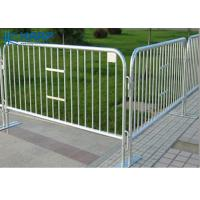 Buy cheap Public Area Temporary Steel Mesh Fencing Iron Wire Control Large Gatherings from wholesalers