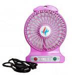 5V Portable Fans 140 x 102 x 42MM / DC Rechargeable Fans , USB Cooling Fans Manufactures
