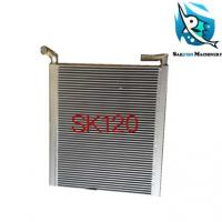 Buy cheap Hot sale good quality SK120 oil cooling radiator for KOBELCO excavator from wholesalers