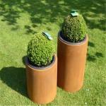 Buy cheap Outdoor Raised Garden Corten Steel Planters Rectangular Planter Box from wholesalers
