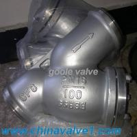 Buy cheap DIN Y/T type strainer,GS-C25,CF8,CF3 material,flanged,welded from wholesalers