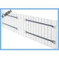 Buy cheap Light Duty Galvanized Steel Wire Mesh Panels Zinc Plate Decking Fit Pallet Racks from wholesalers