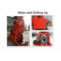 Buy cheap GK200 Water Well Drilling Rig 200m Drilling Depth For Road / Railroad Construction from wholesalers