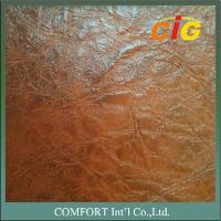 CIGT850 Print Design artificial leather material 0.8mm / 1.0mm Thick Auto Seat Use Manufactures