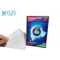 Buy cheap Washing Machine Color Catcher For Non Woven Fabric Color / Dirt Absorption from wholesalers
