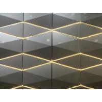 Buy cheap 3D Design Aluminium Composite Panel Wall Cladding Material With LED Lighting Decoration from wholesalers