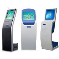 Buy cheap 17 inch Bank Queue Management Touch Screen Ticket Dispenser Kiosk from wholesalers