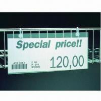 Buy cheap Shelf Talker for Wire Shelves from wholesalers