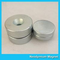 Wholesale N52 Disc Thick Neodymium Countersunk Magnets 19mm Diameter x 6mm from china suppliers