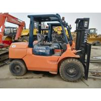 Buy cheap 2011 Year Used Diesel Forklift Truck Toyota FD50 With 6m Lifting Height from wholesalers
