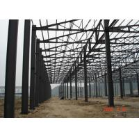 China PEB Steel Framed Structural Steel Buildings High Strength H Section Bespoken Design on sale