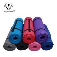 Buy cheap Full Thick Non Slip Workout Mat , Fitness NBR Yoga Mat With High Density from wholesalers