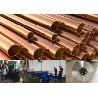 Buy cheap 1/4 To 2 1/8 Inch Air Condition Copper Pipe Making Machine from wholesalers