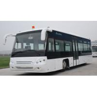 Wholesale Small passengers airport apron bus VIP decoration 56 passengers standing area from china suppliers