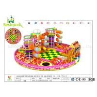 Buy cheap Colorful Indoor Adventure Playground Anti - Static Custom Made Design from wholesalers