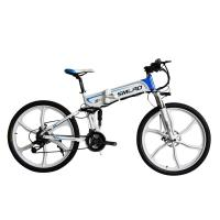 Buy cheap Adult Electric Mountain Bicycles , Portable Folding Electric Bike CE Certificate from wholesalers