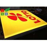 Buy cheap Wall Mounted LED Outdoor Light Box , Silk Screen Printed Logo LED Advertising Signs product