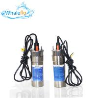 Buy cheap Whaleflo WEL2460-30 24V 12LPM Max Lift 100 M 5.0 A DC Solar Powered Submersible Water Pump System For Farm Irrigation from wholesalers