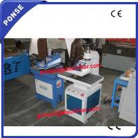 Buy cheap PONSE Brand CE certificated 10Ton hydraulic fabric cutting press from wholesalers