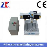 Buy cheap Mini desktop printed circuited board cnc router  ZK-3030(300*300*80mm) from wholesalers