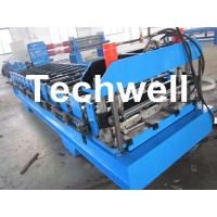 TW-18-271.7-814 Roof Panel Profile Sheet Roll Forming Machine With 14 Forming Stations