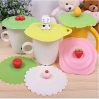 Wholesale silicone cup seal lids ECO-friendly cup lids from china suppliers