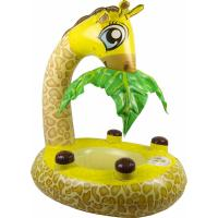 Buy cheap Environmental Vinly Giraffe Inflatable Pool Floats With Comfortable Drop - Seat from wholesalers
