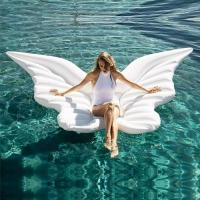 Buy cheap Novel design buttefly shaped 0.3mm water games  PVC air inflatable swimming toy from wholesalers