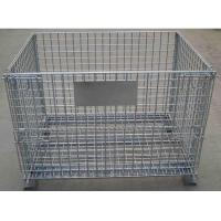 Buy cheap euro style wire mesh container from wholesalers