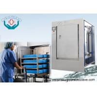 Buy cheap Mechanical Hinge Single Door Pharmaceutical Autoclave With 0.2μm Membrane Type Air Filter from wholesalers