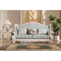 Buy cheap 2016 living room set wooden sofa design hand carved furniture sofa french 805 from wholesalers
