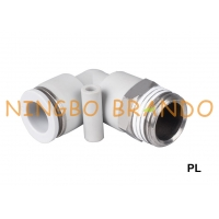 Buy cheap PL Male Elbow Push-In Pneumatic Air Hose Fittings 1/8'' 1/4'' 3/8'' 1/2'' from wholesalers