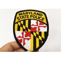 Buy cheap Security Uniforms Embroidered Badge Patches Sew On Patches For Jackets from wholesalers