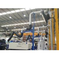 Wholesale Self - Supporting Fume Extraction Arms Metal Hood 4 meters With Blast Gate from china suppliers