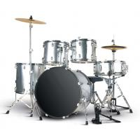 Wholesale Quality PVC series 5 drum set/drum kit OEM various color-A525PZ-802 from china suppliers