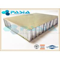Buy cheap Brushed Honeycomb Aluminum Plate , Lightweight Building Panels Thermal Insulation from wholesalers