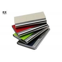 Buy cheap Pocket Business Card Holder Organizer , Slim Leather Wallet Credit Card Holder With Name from wholesalers