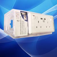 Buy cheap hot sale Hotel wall USB socket with usb charging 5V 2.1A charge for smartphone from wholesalers