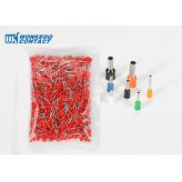 Buy cheap VE2512 2.5mm² Insulated Gas-tight Quick Push In Cord Wire End Ferrules Terminals For Soft Cable from wholesalers