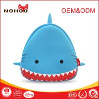 Buy cheap Personalized Shark Shaped Backpack With Spikes OEM , Cute Teen Backpacks For Travelling Hiking from wholesalers