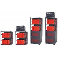 Buy cheap Indoor Combination Telecom Power Supply Compatible Battery Rack Optional Layers from wholesalers