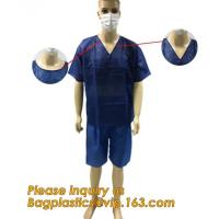 Buy cheap Children Patient Gown/Surgical Gown With Short Sleeve,  Disposable Nonwoven Surgical Gown For Medical/Hospital nurse doc from wholesalers