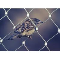 Buy cheap Plain Weave Stainless Steel Aviary Mesh , Stainless Steel Bird Cage Screen Mesh from wholesalers
