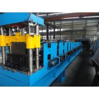 Buy cheap Roof Cable Tray Roll Forming Machine , Wall Panel Roll Forming Machine By Chain product