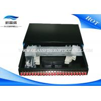 Buy cheap Industrial Fiber Termination Kits 24 ports 19 Inch Optical Fiber Patch Panel White from wholesalers