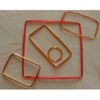 Buy cheap Square Copper Customized Micro RFID Tags Transponder Coil In RFID Readers from wholesalers