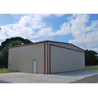Buy cheap Light Weight Steel Aircraft Hangar Buildings Attractive Appearance Eco Friendly from wholesalers
