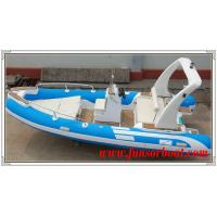 Buy cheap Durable 18 Foot Hard Bottom Inflatable Rib Boats 10 Person Inflatable Boat from wholesalers